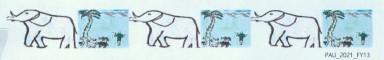 Chembeo Elefanten 384 x 60